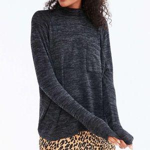 Urban BDG Layne Marled Mock Neck Sweater